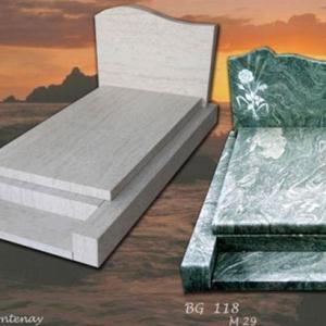 Monument funéraire fabrication française BG 116 118
